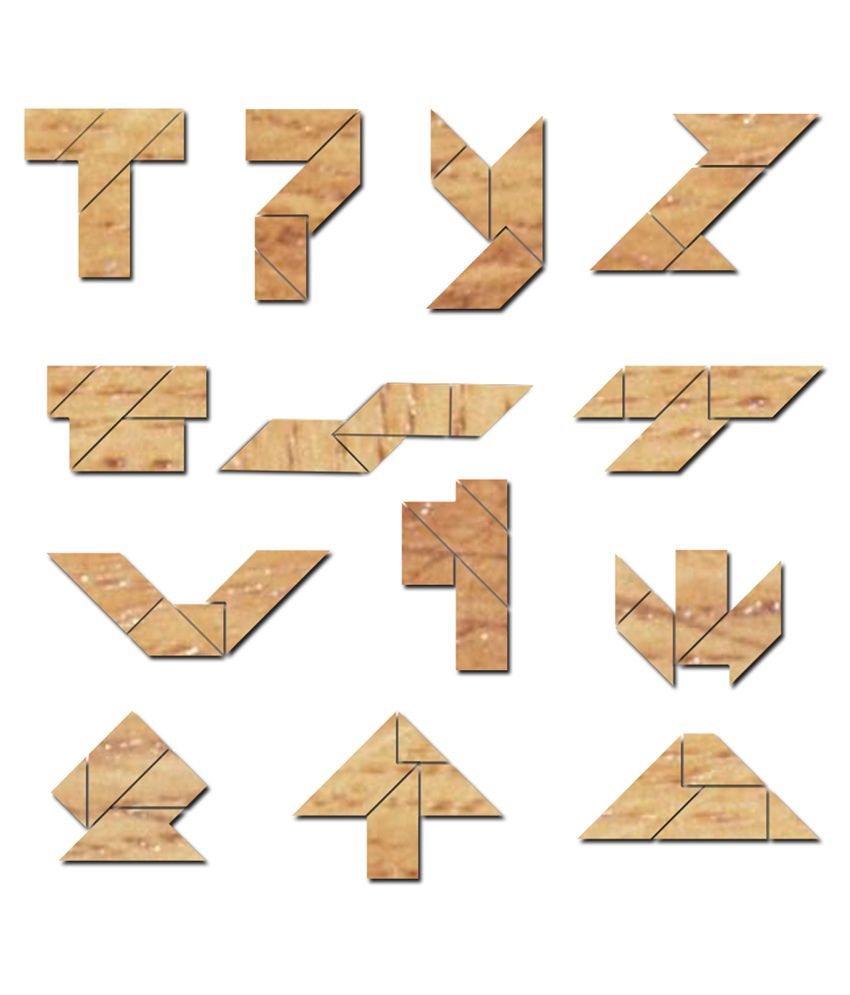Funrally Wooden Tangram Puzzle