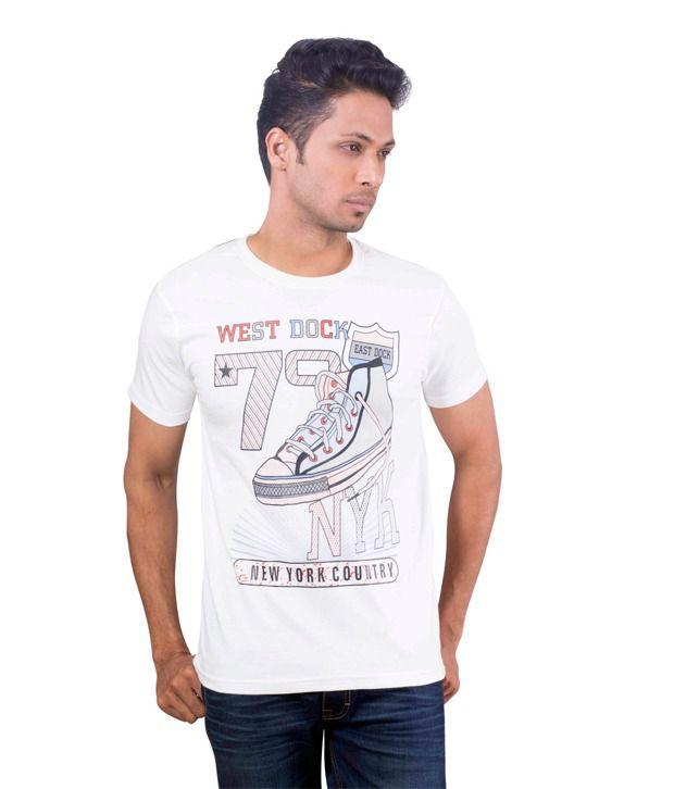 Oviyon crew neck Half sleeve Graphic T-shirt