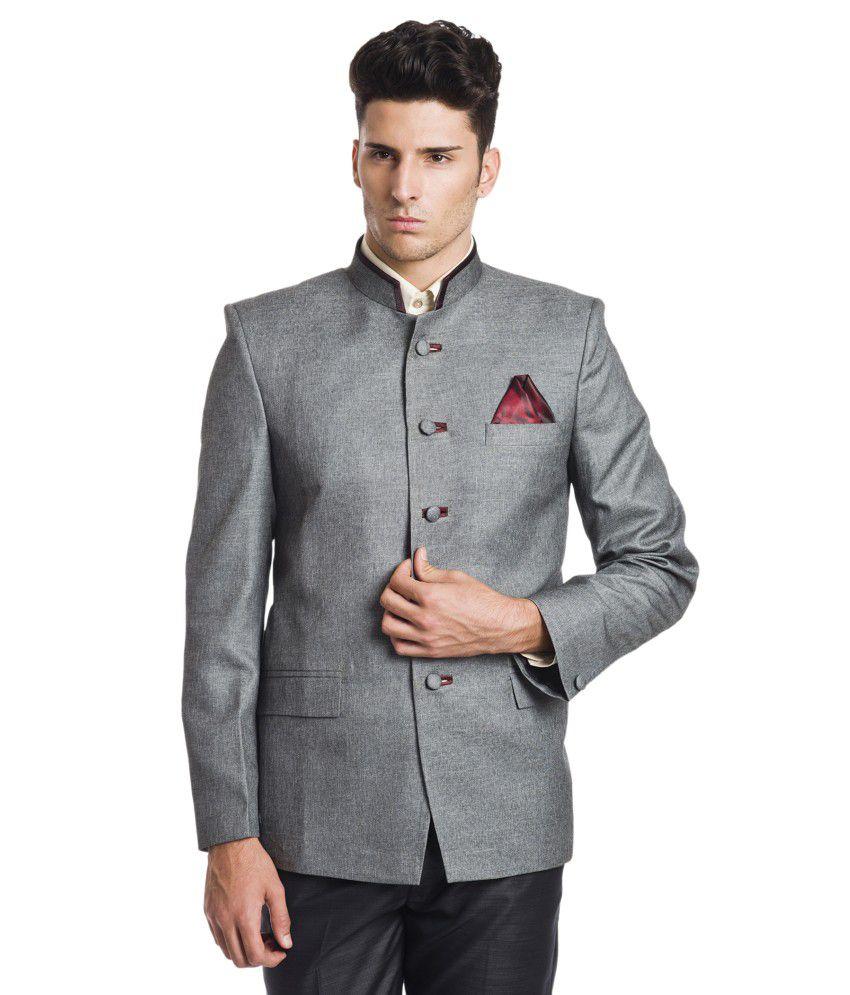 Wintage Gray Linen Blazer