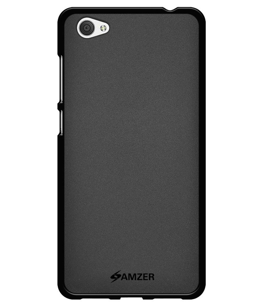 best website 2ff08 aa4d6 Amzer Back Cover for Vivo X5Pro - Black