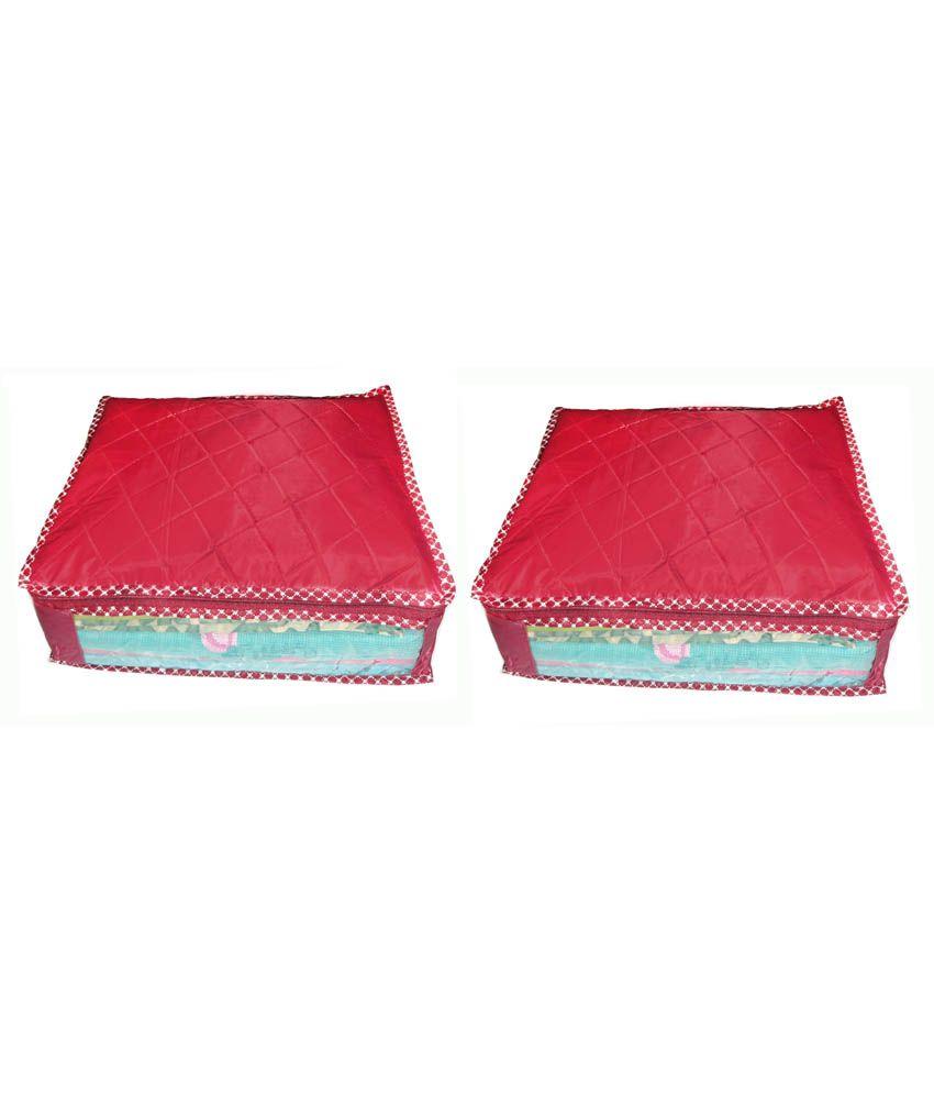 Atorakushon Multipurpose Saree cover sari cover blouse cover  -Pack of 2 pcs