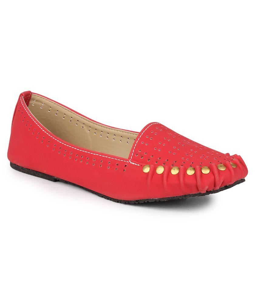 DJH Red Ballerinas