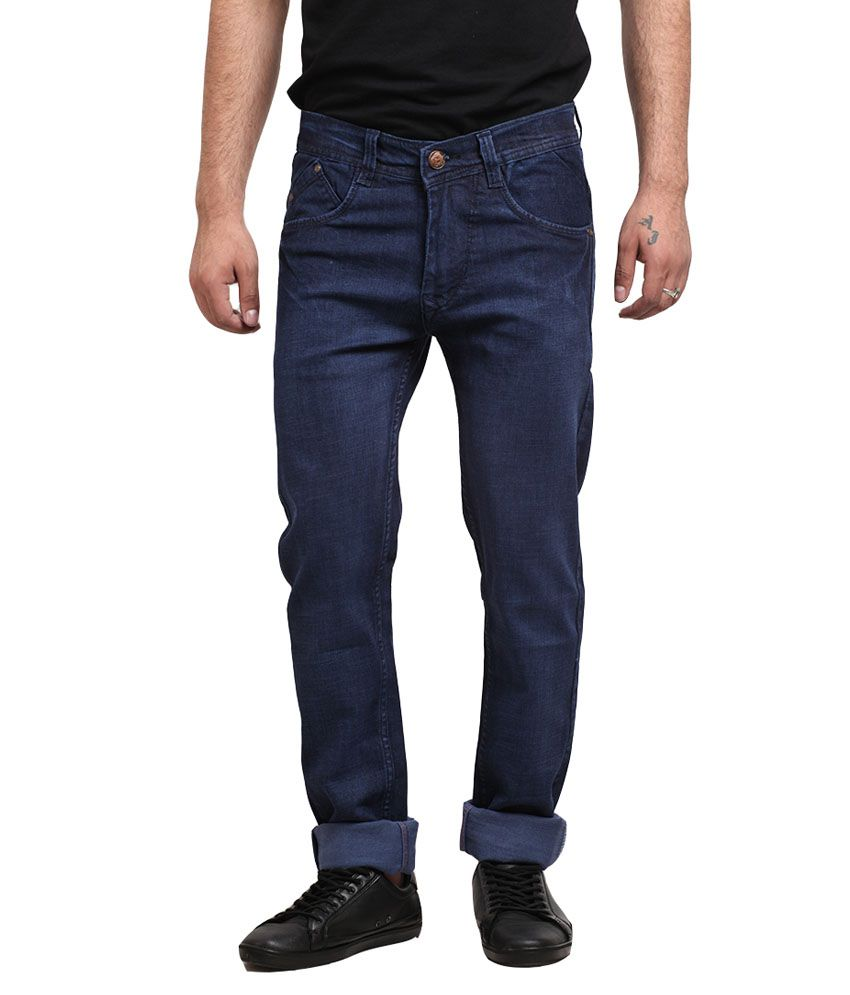 X-CROSS Mens Denim Regular Fit Jeans