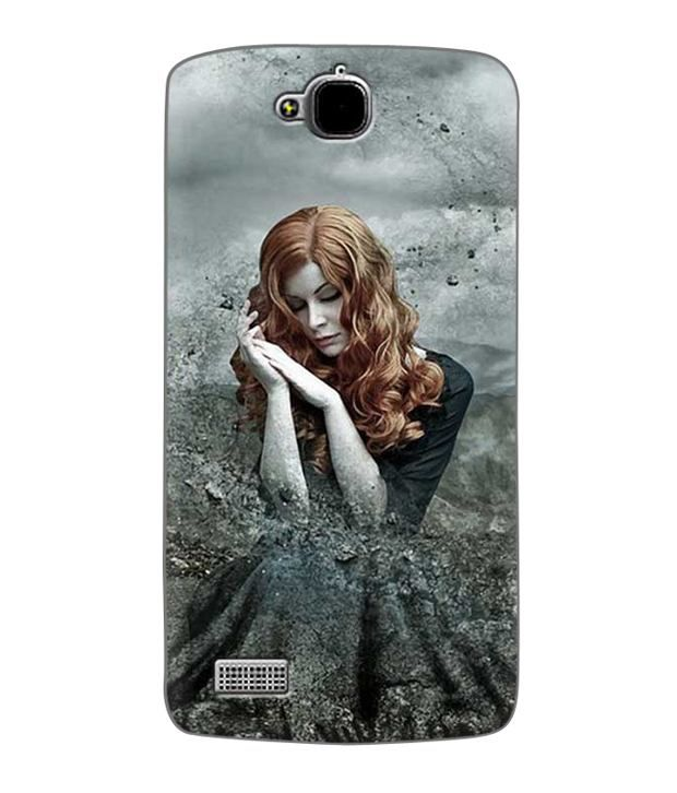 Zapcase Printed Back Case For Huawei Honor Holly