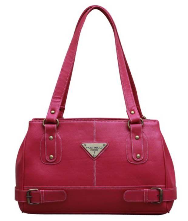 Fostelo Swiss Pink Handbag
