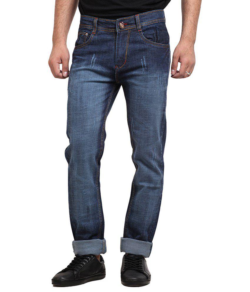 X-Cross Blue Regular Jeans