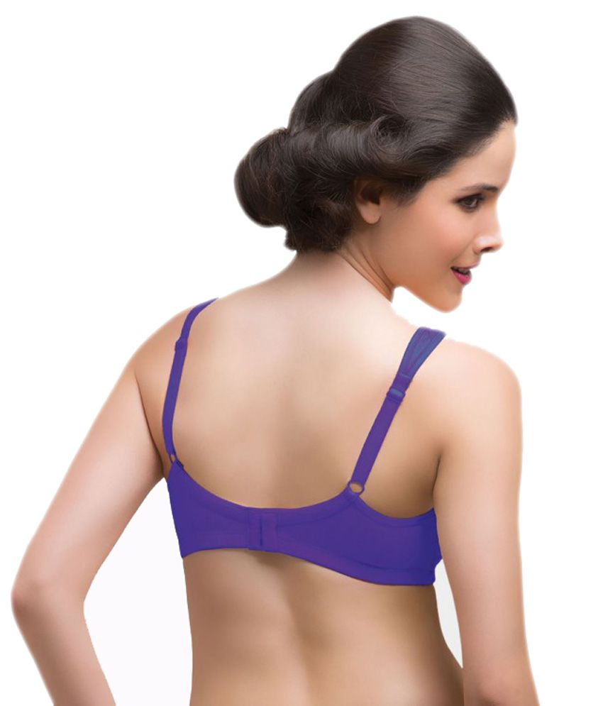 c8bb1b71ef Buy Laavian Purple Bra Online at Best Prices in India - Snapdeal