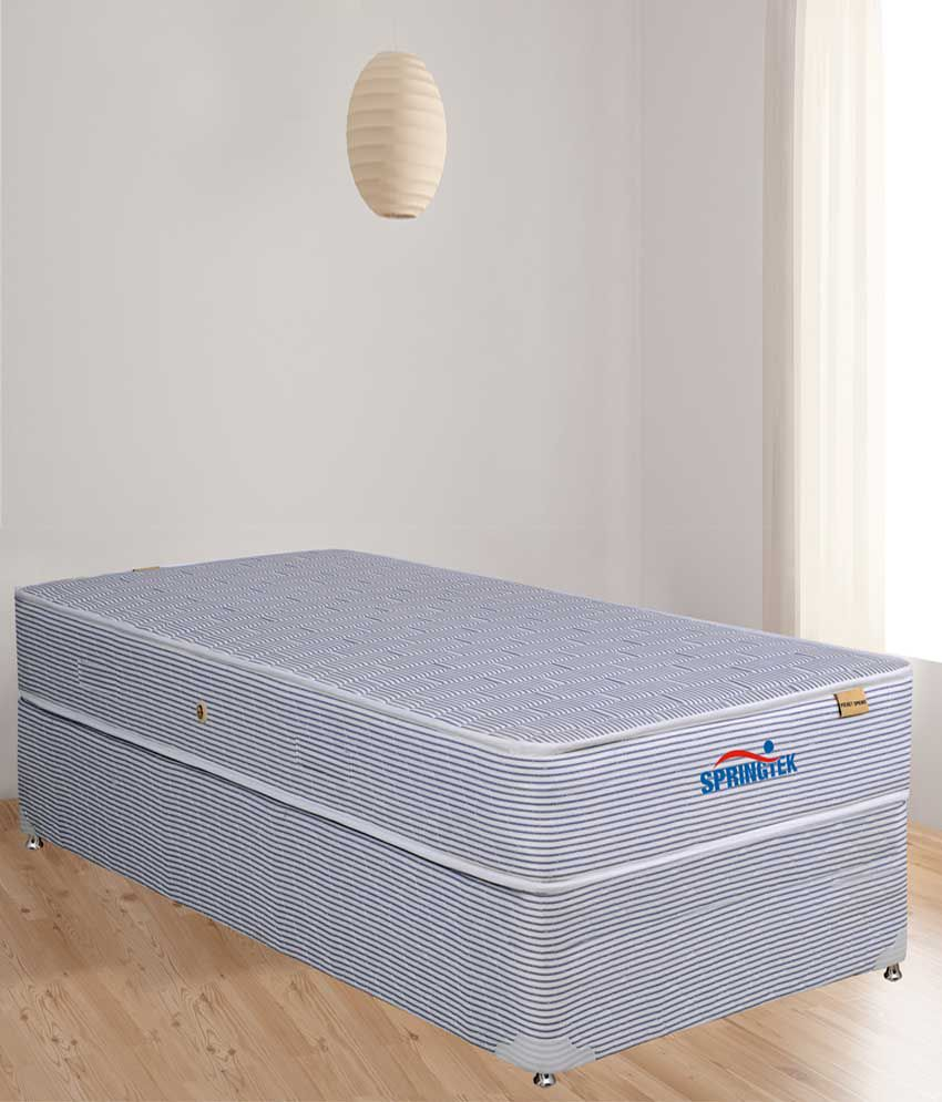 springtek super soft pocket spring mattress 6 inches buy