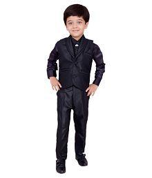 Arshia Fashions Black Indo Western Suit