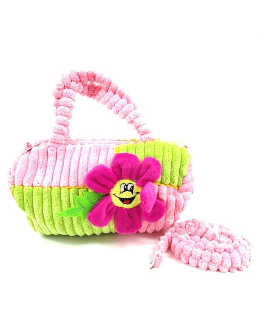 Kidzvilla Multicolour Soft Bag