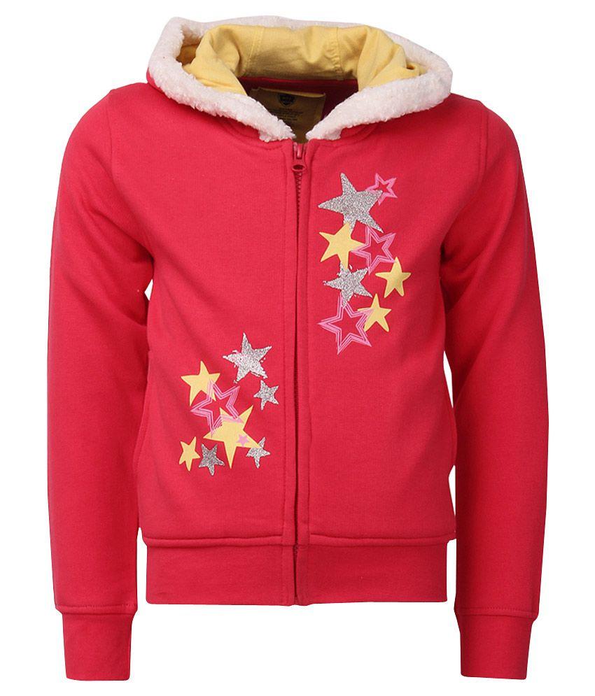 612 League Red Full Sleeves Regular Sweatshirt