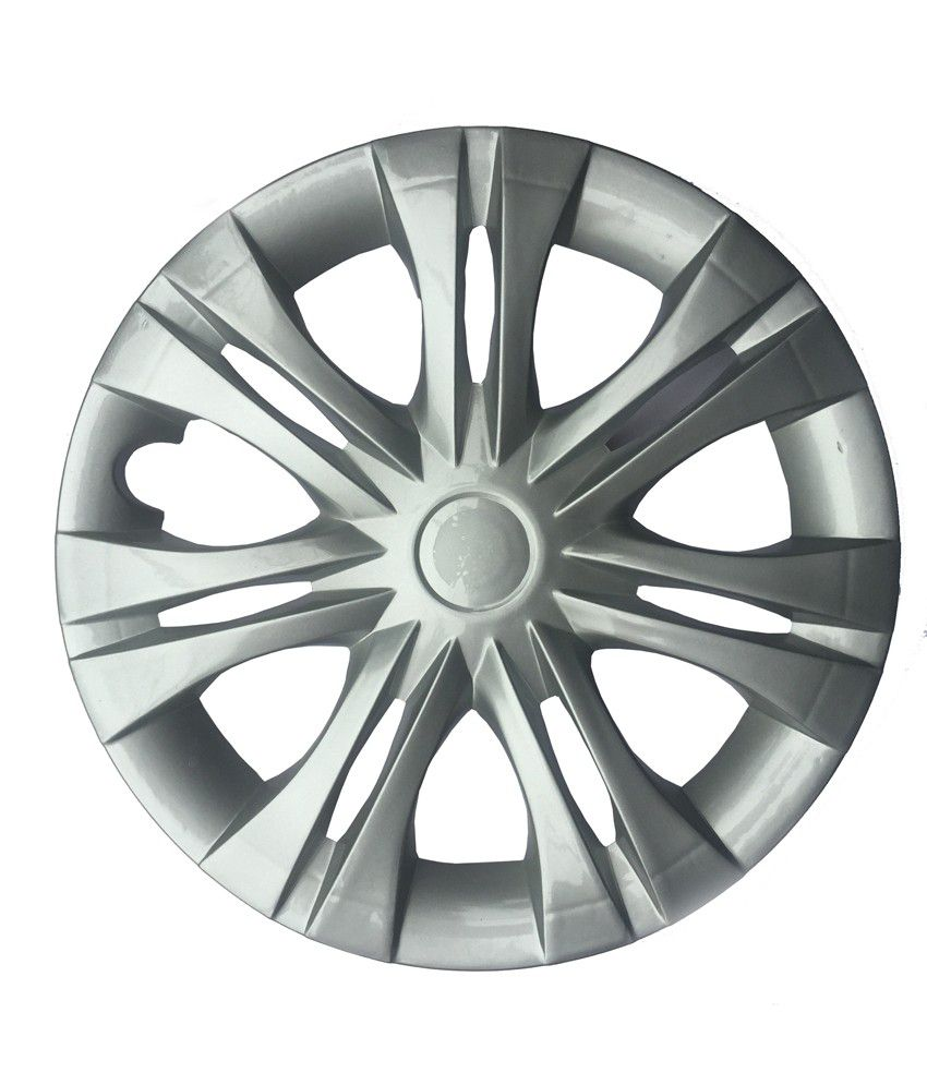Cp Bigbasket Grey Wheel Cover For Toyata Innova New - Set Of 4
