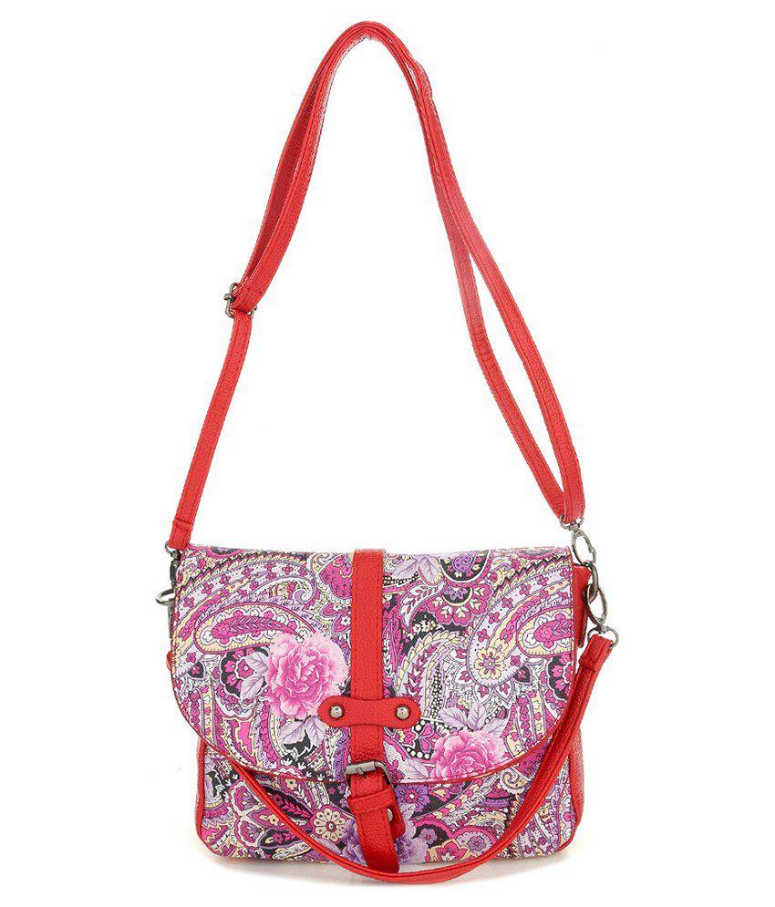 Iva Red Sling Bag