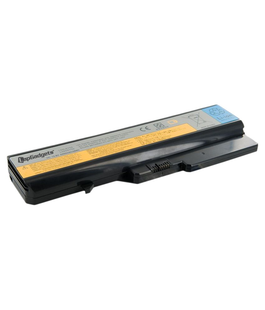 Lap Gadgets Li-on Laptop Battery for Lenovo Idea Pad G465 6 Cell