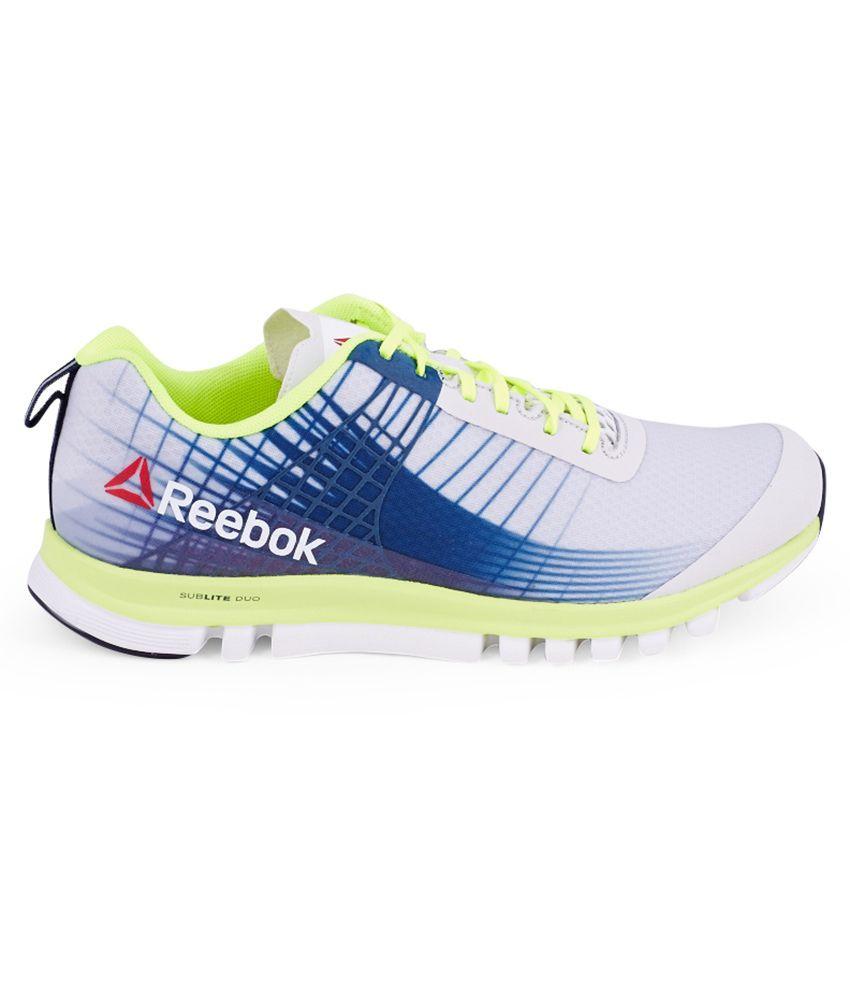 c82751ae476 Reebok Sublite Duo Speed Blue Sport Shoes - Buy Reebok Sublite Duo ...