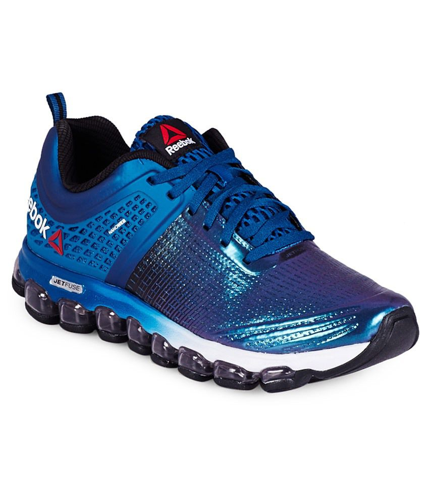5c101ade2fb0b Reebok Zjet Run Irides Blue Sport Shoes - Buy Reebok Zjet Run Irides Blue Sport  Shoes Online at Best Prices in India on Snapdeal