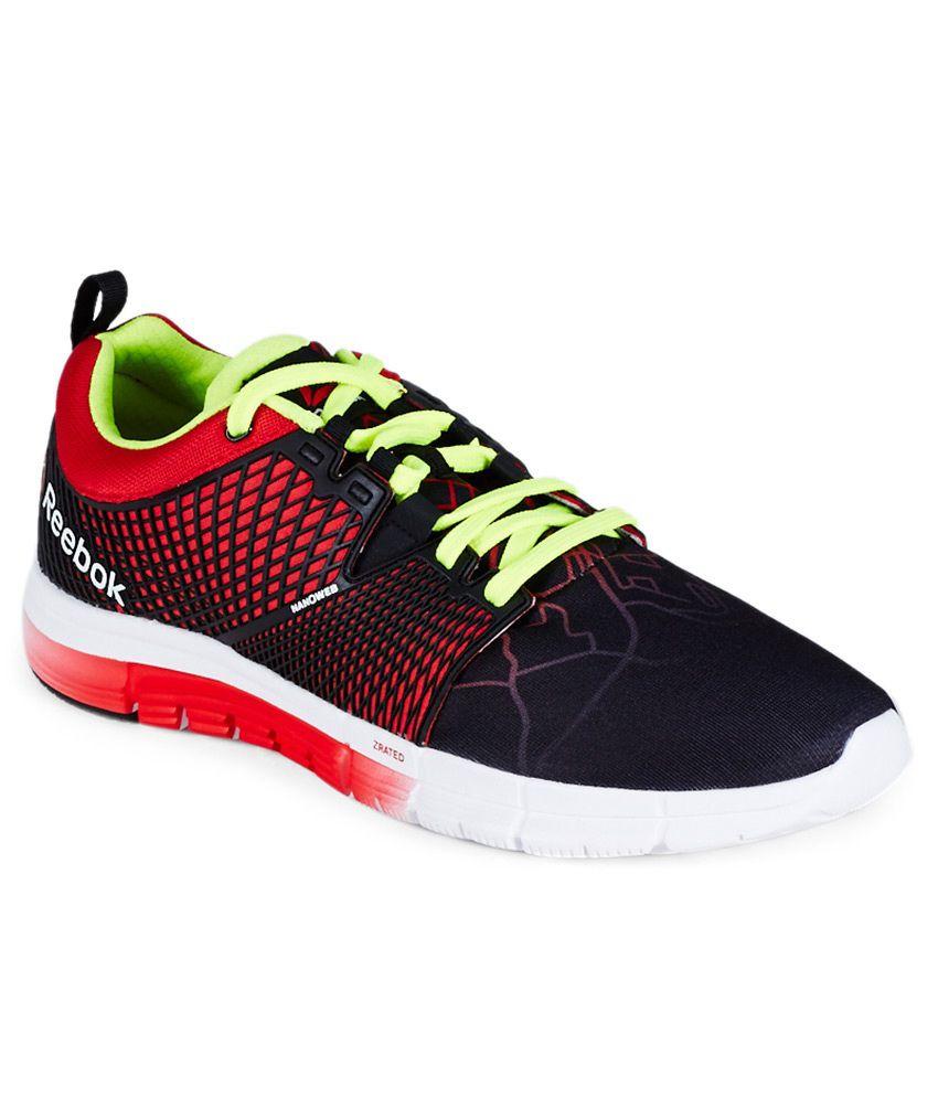 dolor de cabeza simultáneo Exquisito  Reebok Zquick Dash City Black Sport Shoes - Buy Reebok Zquick Dash City  Black Sport Shoes Online at Best Prices in India on Snapdeal