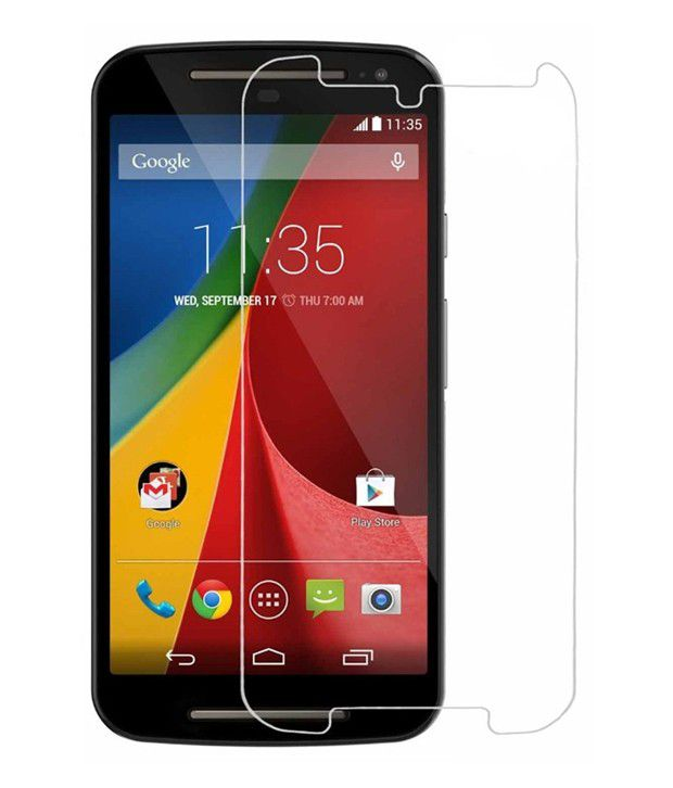 Cellmate Tempered Glass Screen Guard for Moto G 2nd gen