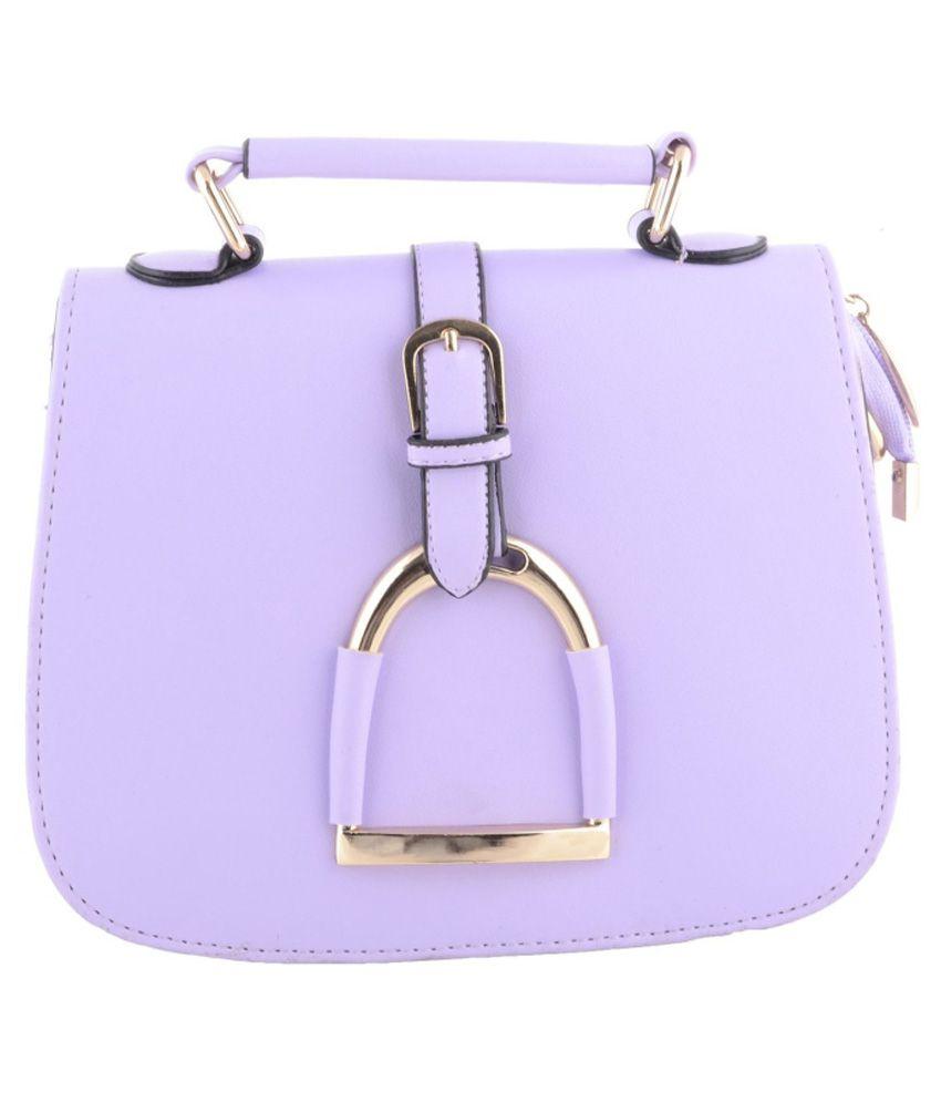 Damit Purple Sling Bag