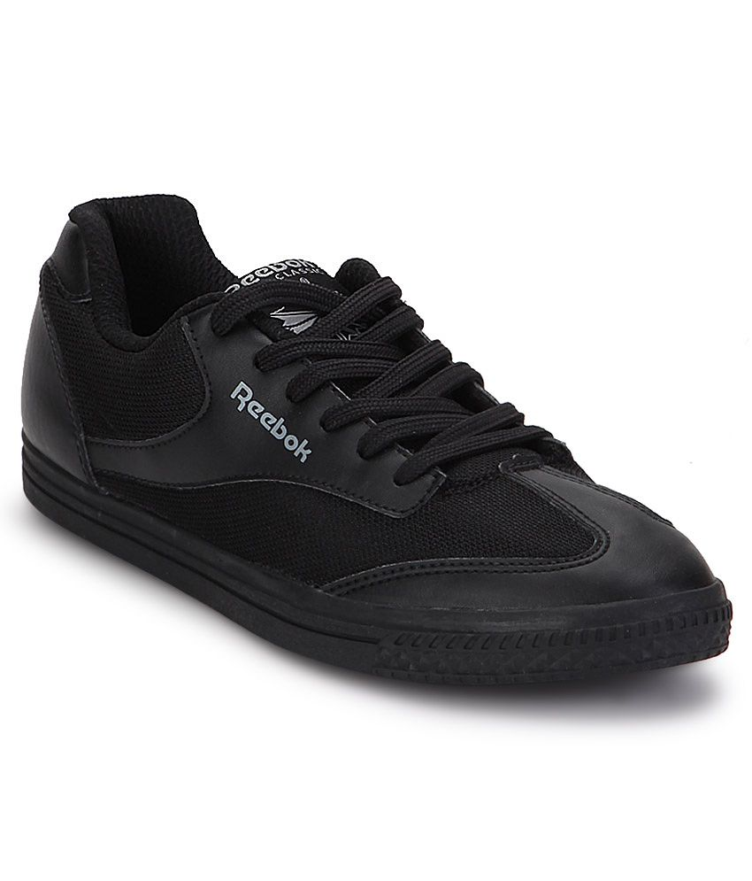 0785a78d880 Reebok Black Smart Casuals Shoes - Buy Reebok Black Smart Casuals Shoes  Online at Best Prices in India on Snapdeal