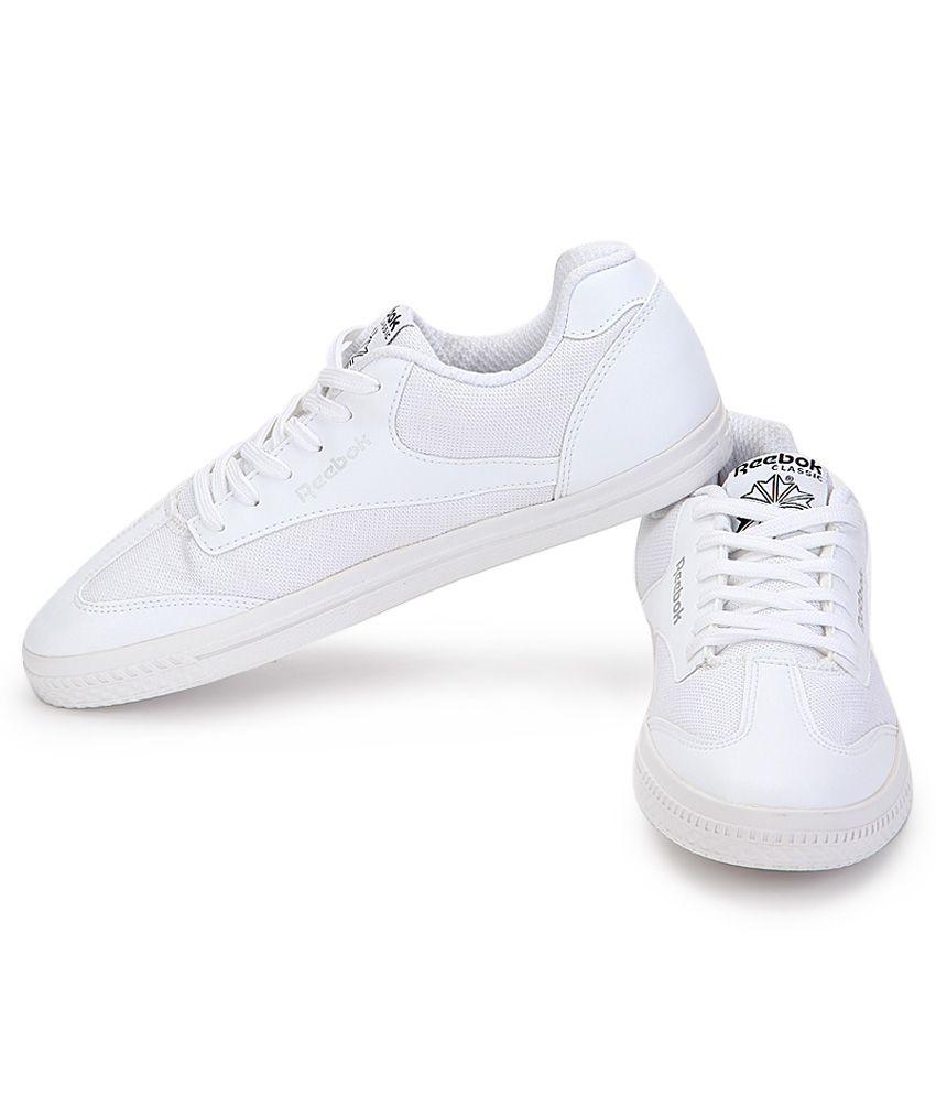 Reebok White Sneaker Shoes - Buy Reebok