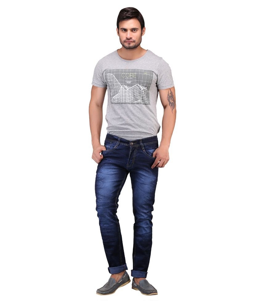 X-Cross Blue Regular Fit Jeans