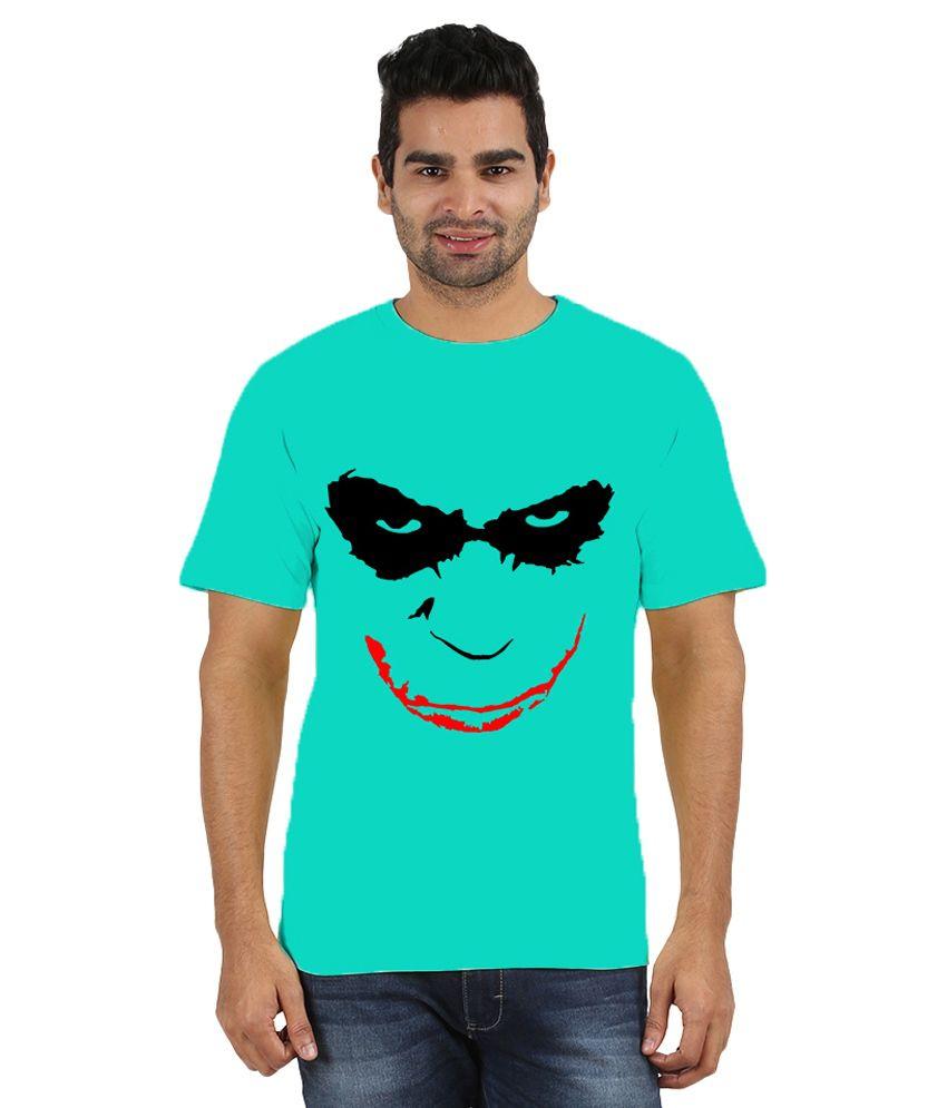 Doozy Shopping Turquoise Cotton T-Shirt
