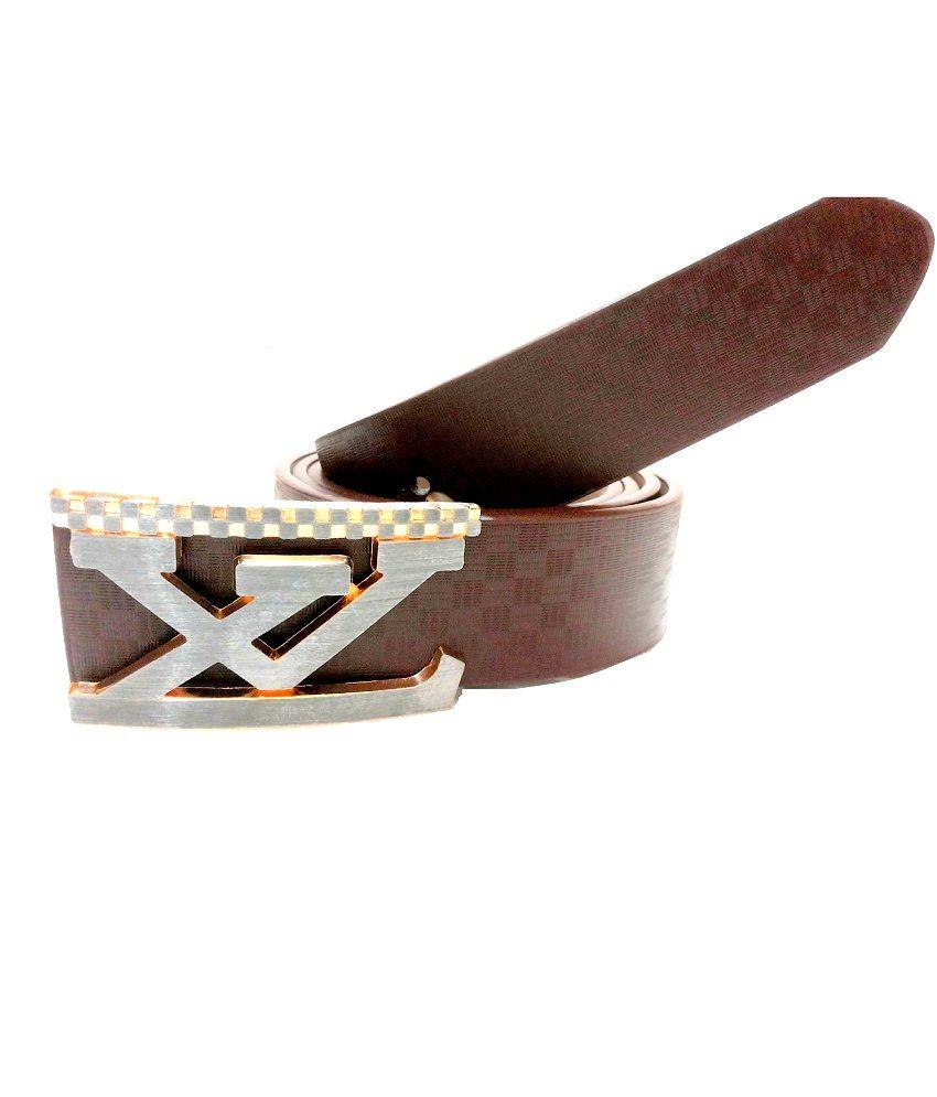 Mode Brown Autolock Buckle Casual Belt