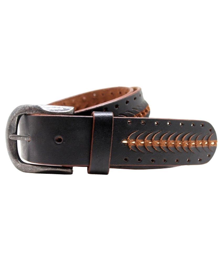 Lapalma Black Leather Belt