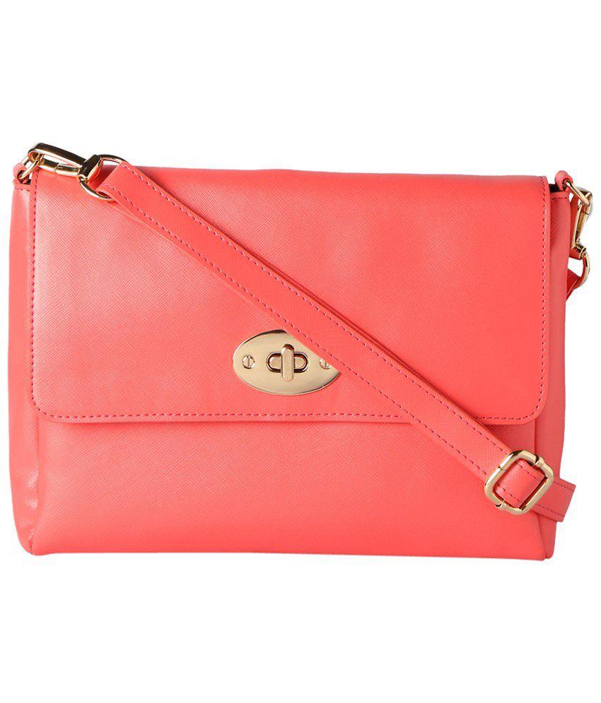 Van Heusen Pink Sling Bag