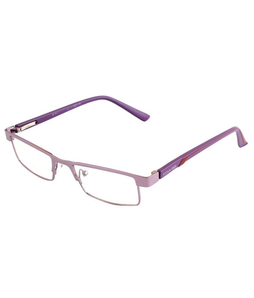 4dc515bc57 Titan Eye Plus Purple Metal Frames Eyeglass - Buy Titan Eye Plus Purple  Metal Frames Eyeglass Online at Low Price - Snapdeal