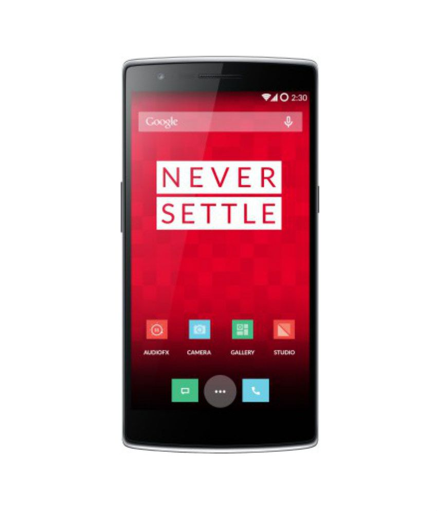 OnePlus one ( 64GB , 3 GB ) Black