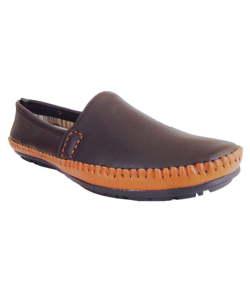 K-Walk Brown Loafers