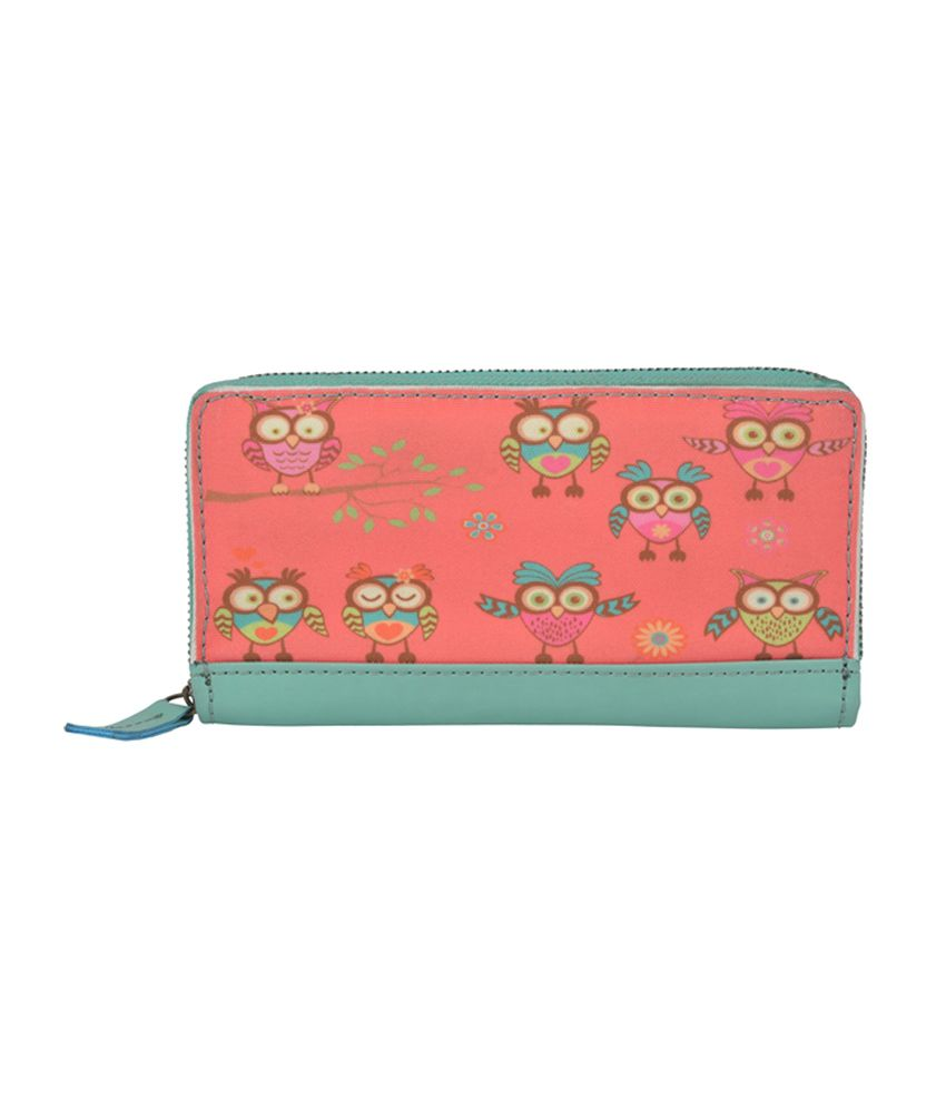 The Backbencher Owl Printed Ladies Wallet