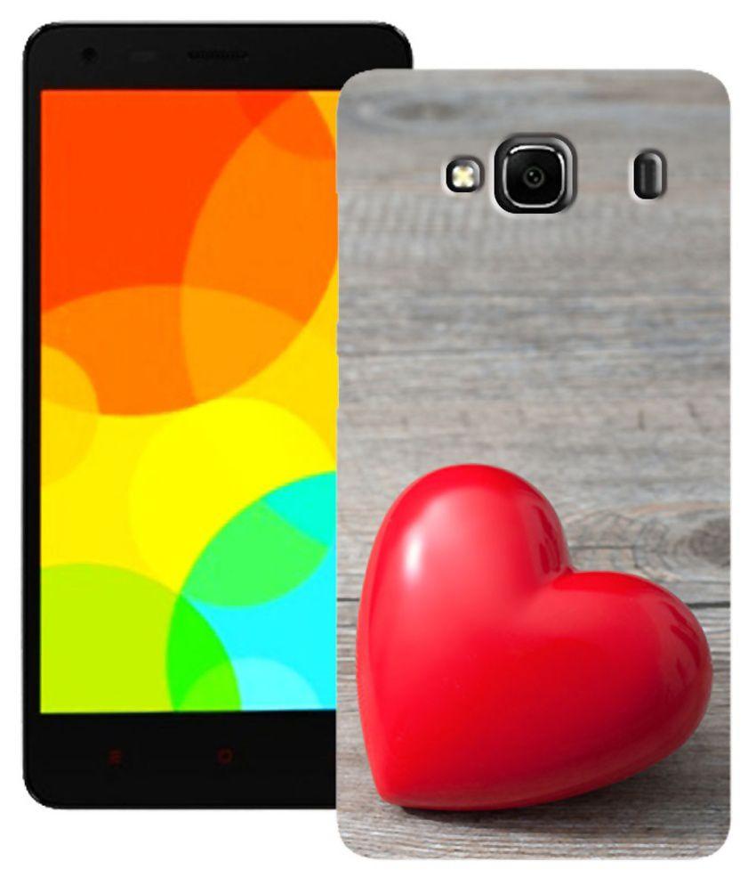 purchase cheap ba44a 57cd2 Zapcase Printed Back Cover for Xiaomi Redmi 2 Prime - Multicolour ...