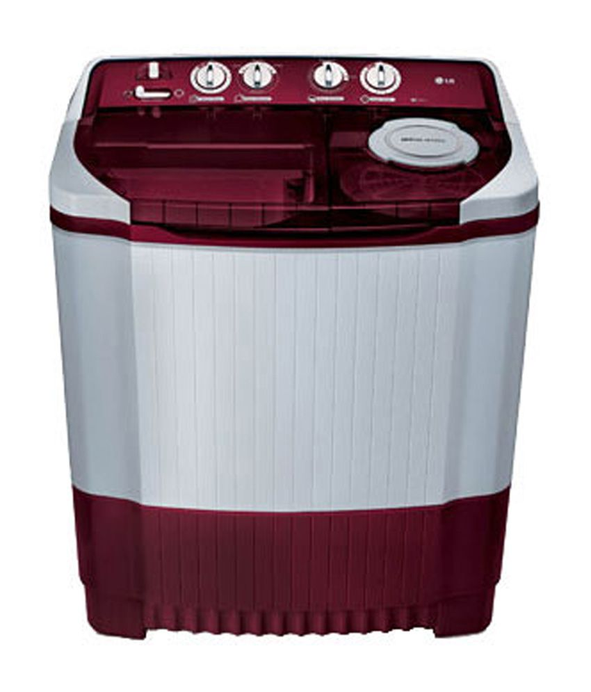 LG 8 Kg P9032R3SM (BG) Semi Automatic Top Load Washing Machine Burgundy