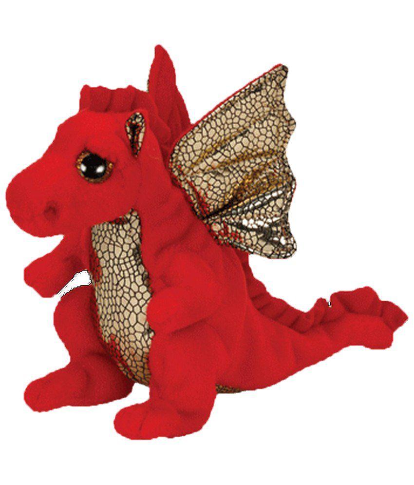 Jungly World Red & Golden Legend Dragon Soft Toy For Kids