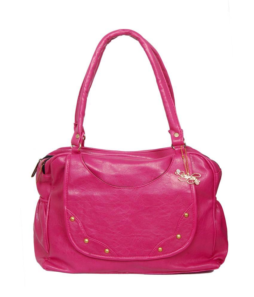 Lengloy Pink Shoulder Bag