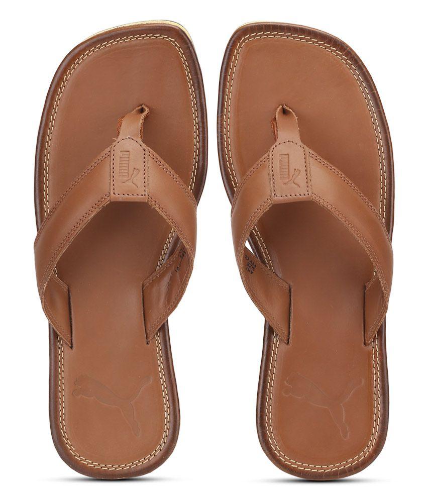 Buy puma brown flip flops \u003e OFF53