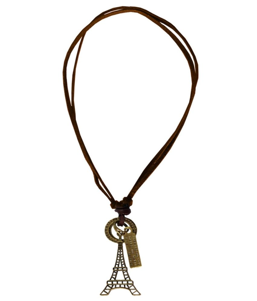 Rich famous khaki eiffel tower pendant with chain buy rich rich famous khaki eiffel tower pendant with chain buy rich famous khaki eiffel tower pendant with chain online in india on snapdeal mozeypictures Image collections