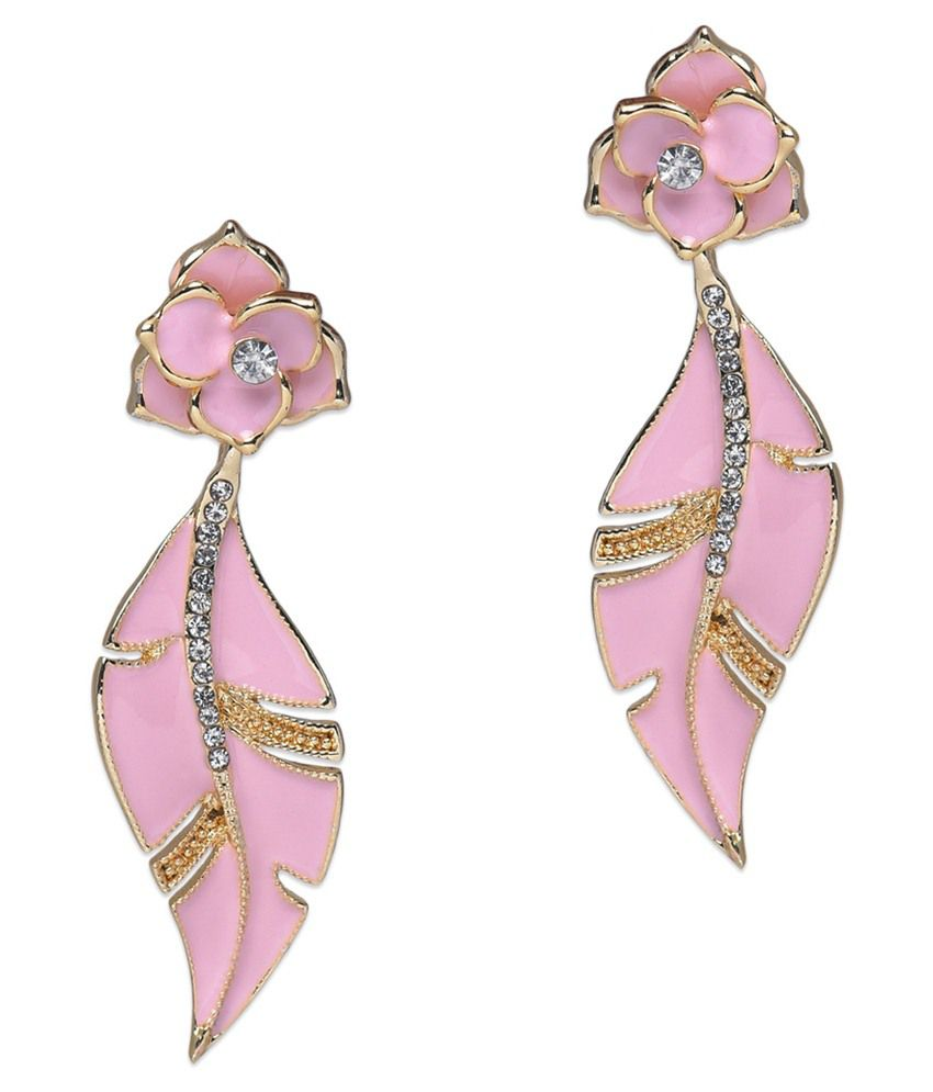 BGS Multicolour Alloy Drop Earrings