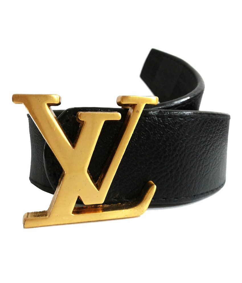 Mode Black Leather Casual Autolock Buckle Belt