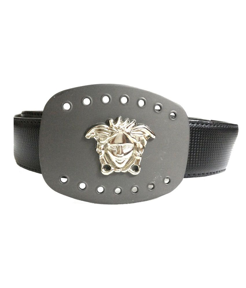 Mode Black Leather Casual Autolock Buckle Belt
