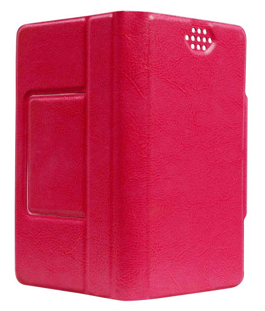 SNE Flip Cover for HTC Desire 510 - Pink