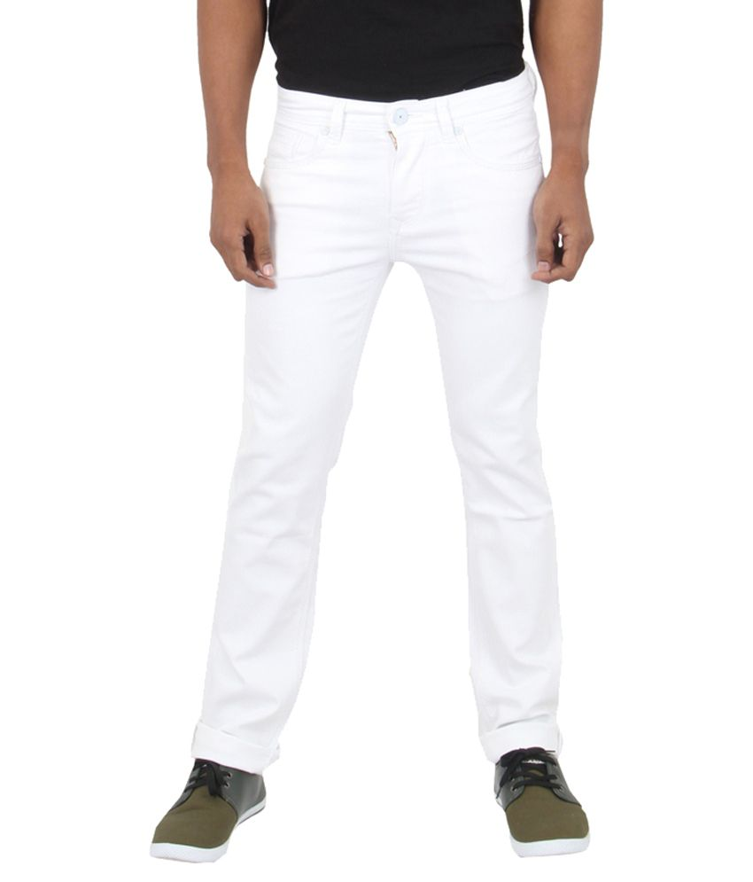 Killer White Regular Fit Jeans