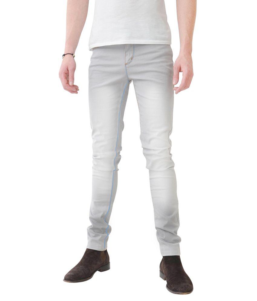 Haltung Grey Skinny Fit Jeans