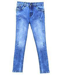 Bat Blue Denim Jeans
