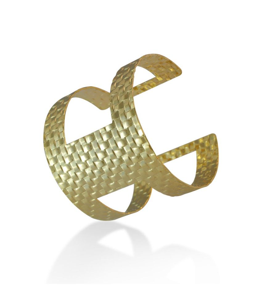 Sarah Metal Gold Cuff