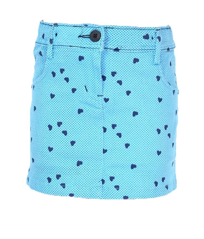 Mcdees Blue Skirt
