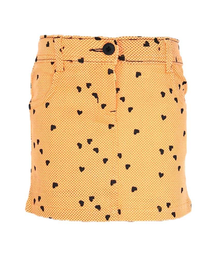 Mcdees Orange Skirt